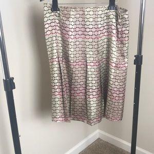 Pleated skirt...